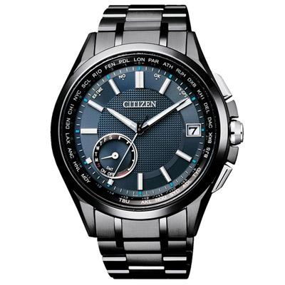 CITIZEN 星辰 GPS 未來指標衛星對時鈦金屬腕錶(CC3015-57L)