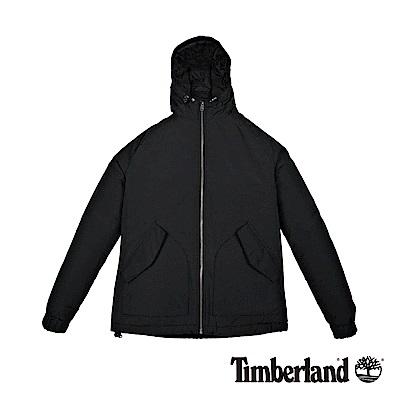 Timberland 男款黑色外套Mt Kibby 防水連帽休閒外套|A1NEL
