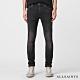 ALLSAINTS CIGARETTEE 特殊彈力素面棉質緊身牛仔褲-黑 product thumbnail 1