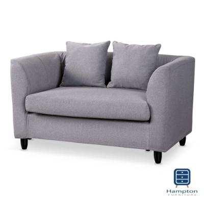漢妮Hampton亞伯斯布面雙人沙發