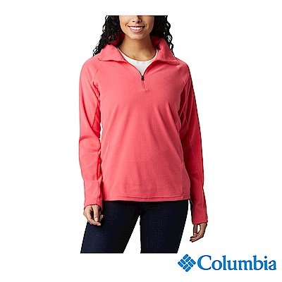 Columbia 哥倫比亞  女款-半開襟刷毛上衣-3色  UAK11310 / 活動款