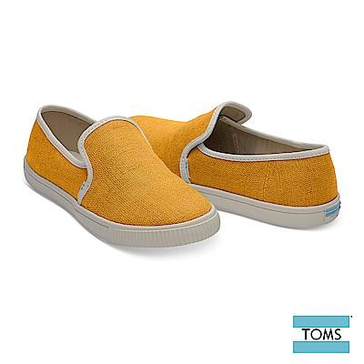 TOMS 素面車邊帆布休閒鞋-女款-Topanga系列