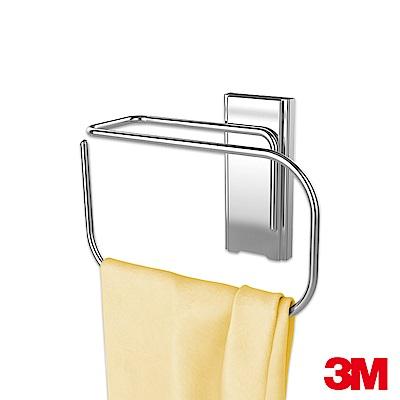 3M 無痕金屬防水收納系列-擦手巾架/捲筒衛生紙架