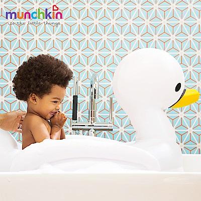 美國滿趣健munchkin-充氣式感溫天鵝造型浴盆