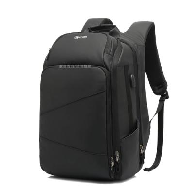 17.3吋 尚品商務 牛津防潑水平板筆電商務旅行後背包 自由行背包