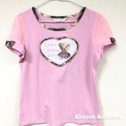 【Kinloch Anderson金安德森女裝】圓領前刺繡上衣