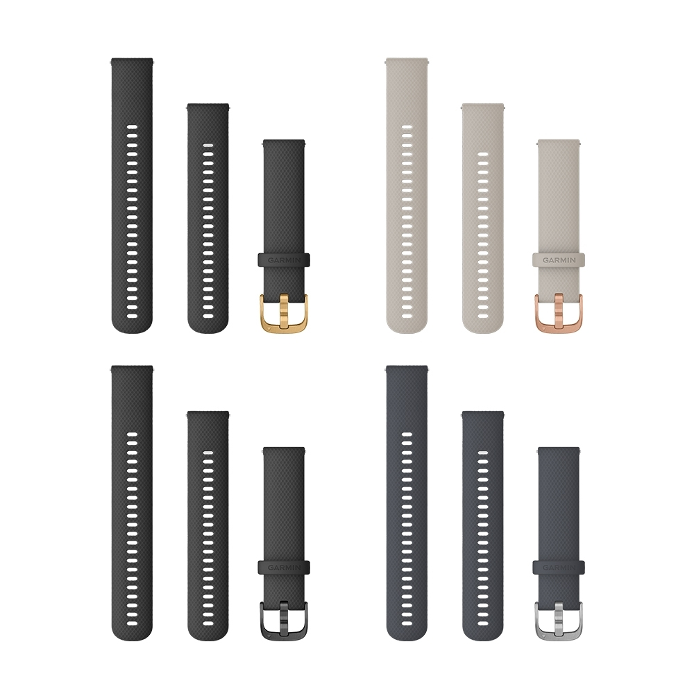 GARMIN QUICK RELEASE 20mm VENU 矽膠錶帶