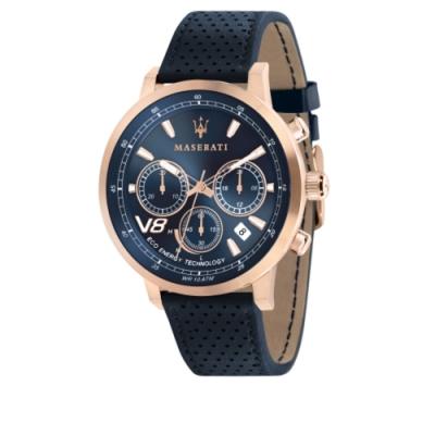 MASERATI TIME 瑪莎拉蒂 GT/三眼日期腕錶 R8871134003