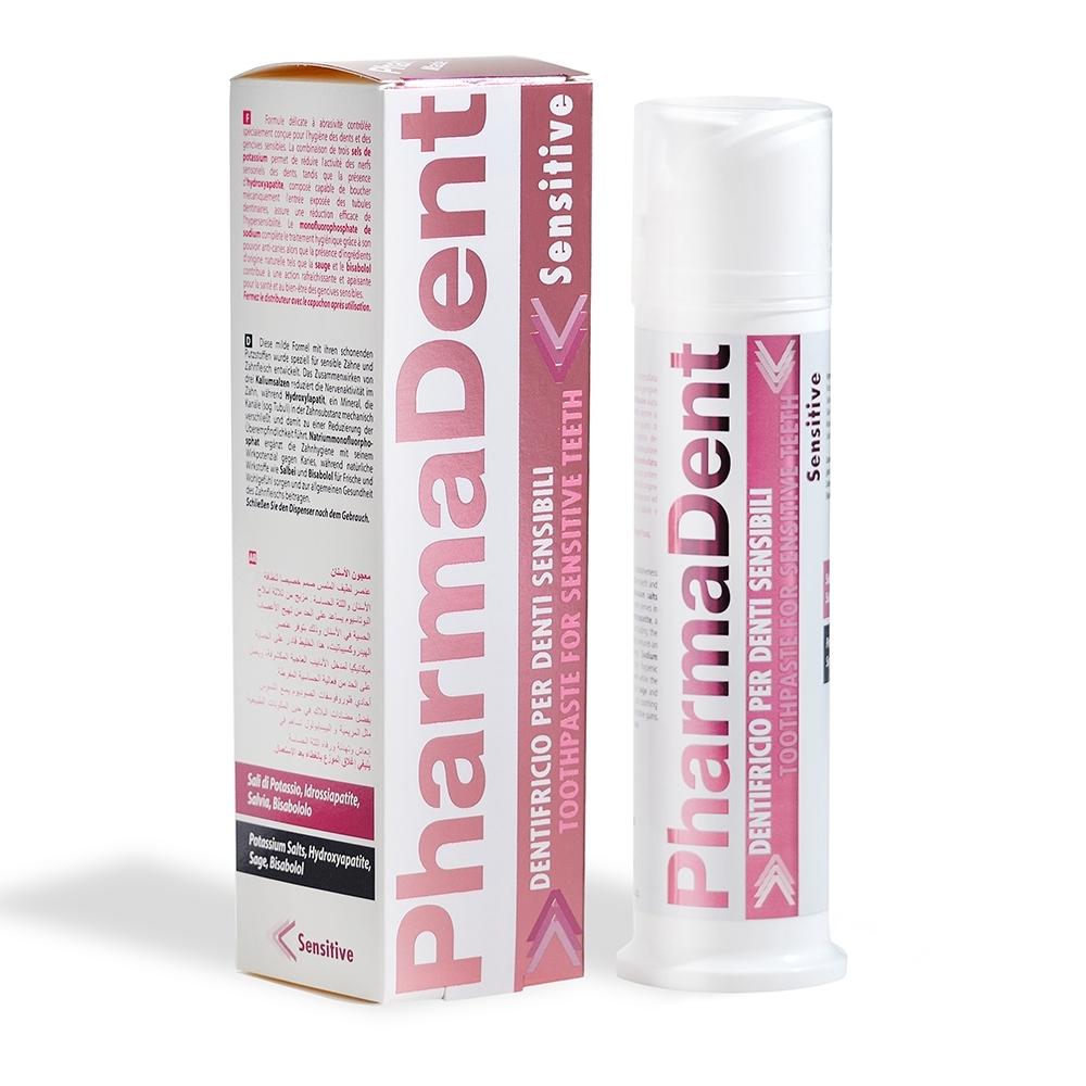 義大利原裝 PharmaDent 法爾登 成人口腔護理 抗敏感 牙膏