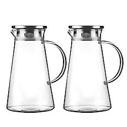 Incare 熱銷日本玻璃水壺1700ML(2入組)
