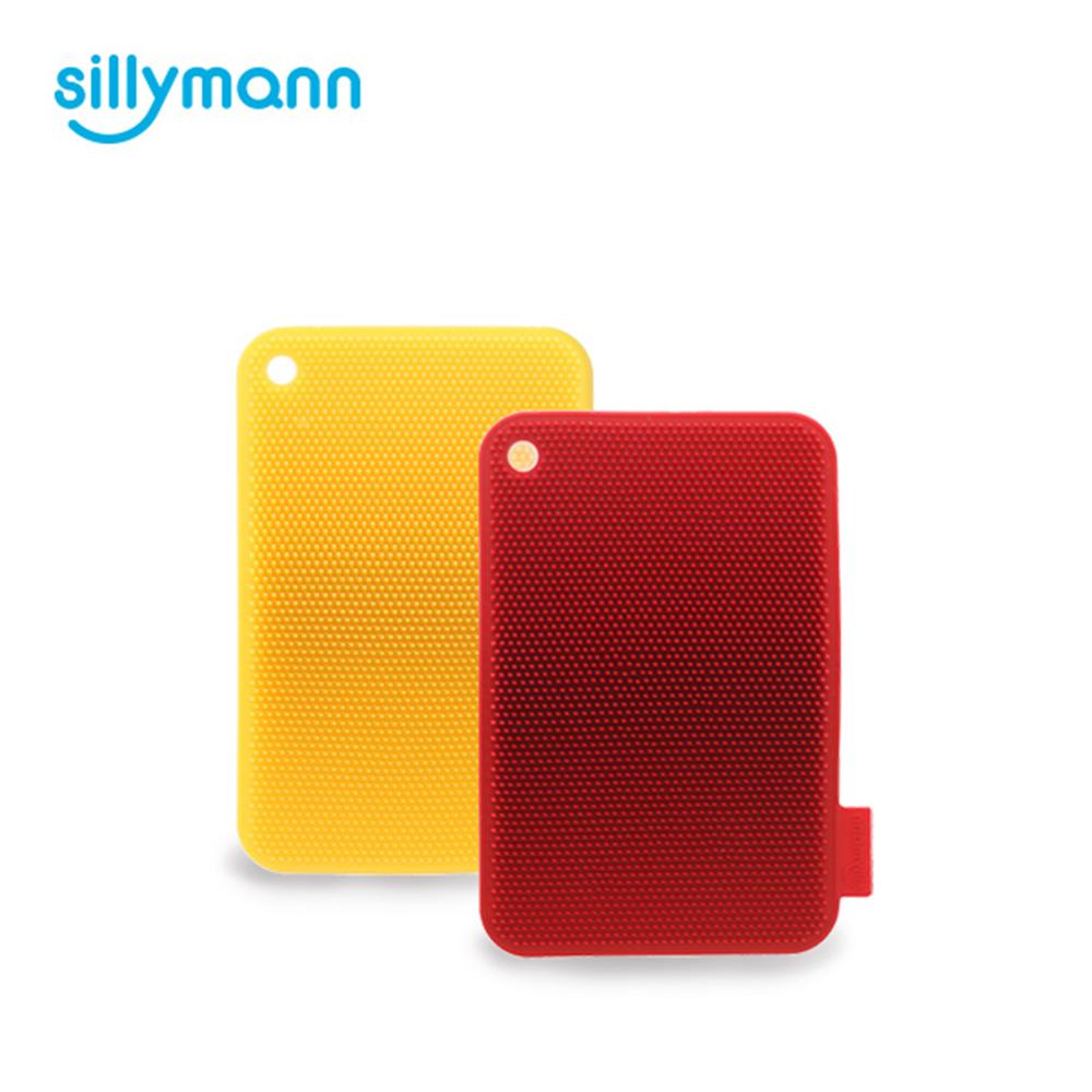 韓國sillymann-100%鉑金矽膠蔬果餐具洗碗刷(顏色任選)