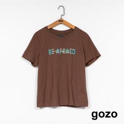 gozo-勇敢嘗試棉質T-(兩色)