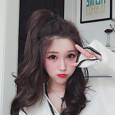 米蘭精品 假髮片真髮絲-17cm短直髮蓬鬆自然女假髮母親節禮物73uh4