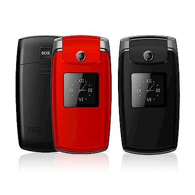 K-Touch K900銀髮一族雙螢幕折疊式手機