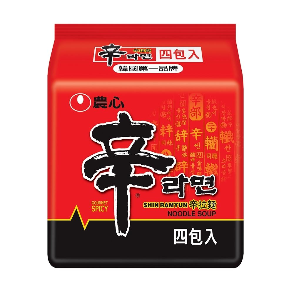 農心 辛拉麵(120g×4入)