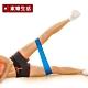 環狀阻力帶瑜珈伸展健身訓練藍色.韻律有氧拉筋運動伸展帶乳膠彈力拉力帶體能肌耐力訓練 product thumbnail 1