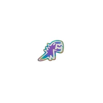 agnes b. - Sport b. 恐龍造型貼耳式單耳耳環(中性)(炫彩)