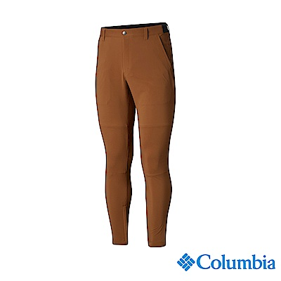 Columbia 哥倫比亞 男款-UPF50防潑長褲-棕褐 UAE06730TN