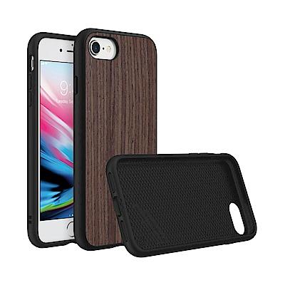 犀牛盾 iPhone 8/7 Solidsuit 胡桃木紋防摔背蓋手機殼