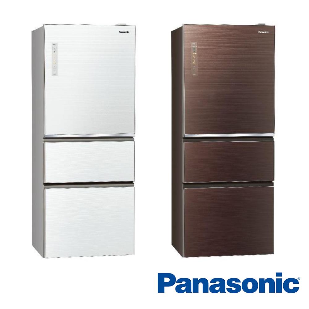 [無卡分期-12期]國際牌 500L 1級變頻3門電冰箱 NR-C500NHGS