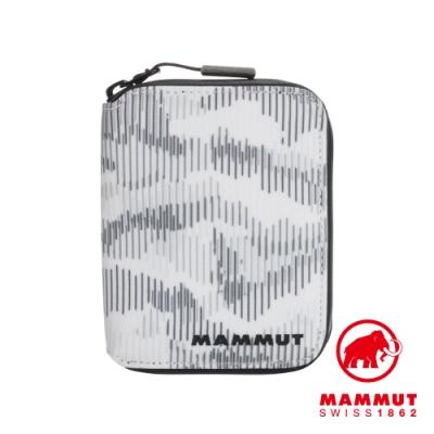 【Mammut】Seon Zip Wallet X拉鍊短夾 迷彩白 #2810-00090