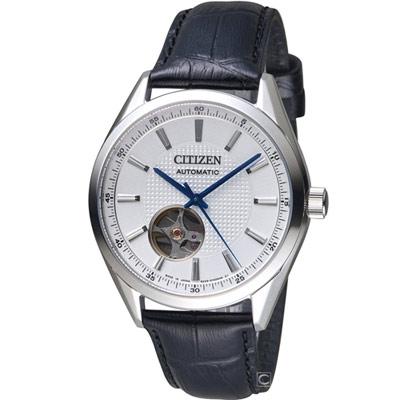 CITIZEN  紳士時尚機械腕錶(NH9111-11A)40mm