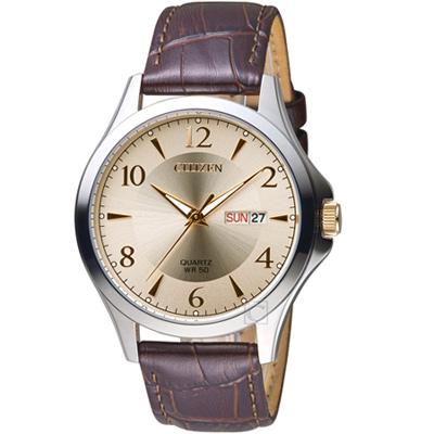 CITIZEN 星辰 經典時尚腕錶(BF2009-29X)42mm