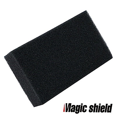 MagicShield 神盾 黑色洗車綿