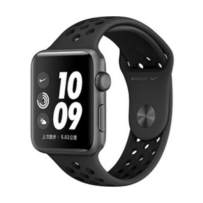 Apple Watch Series 3 NIKE GPS鋁金屬錶殼搭配運動型錶帶42mm