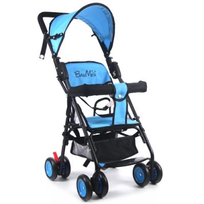寶盟BAUMER 第三代輕巧推車(遮陽棚+抗震輪)-水藍