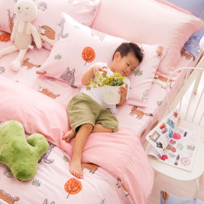 OLIVIA  童話星球 粉  特大雙人床包被套四件組 230織天絲TM萊賽爾 台灣製