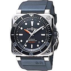 Bell & Ross DIVER 潛水機械手錶-黑/42mm