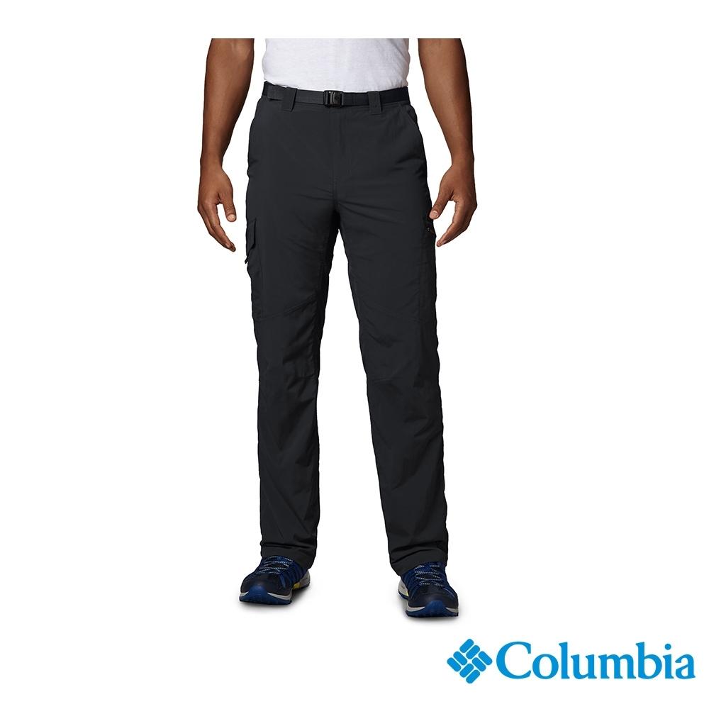 Columbia 哥倫比亞 男款- UPF50快排長褲-黑色 UAM80070BK