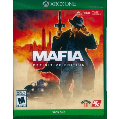四海兄弟:決定版 Mafia: Definitive Edition - XBOX ONE 中英日文美版