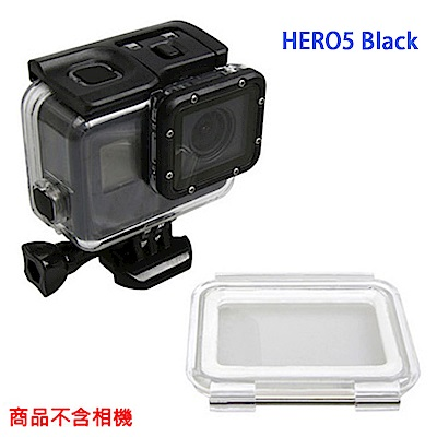 【LOTUS】HERO5 BLACK HERO6 BLACK 防水殼+觸控後蓋 可不拆鏡頭