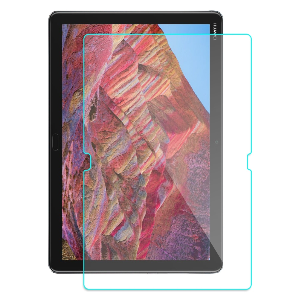HUAWEI MediaPad M5 LITE 旭硝子 2.5D電鍍平板鋼化玻璃保護貼
