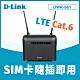D-Link 友訊 DWR-961 4G LTE Cat.6 AC1200 無線路由器(分享器) product thumbnail 1