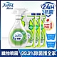 【日本風倍清】織物除菌消臭/除臭噴霧1+3超值組 (綠茶清香) FEBREZE product thumbnail 2