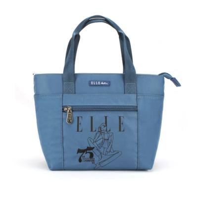 【ELLE Active】75周年限定系列-手提包/手提袋-小-藍色