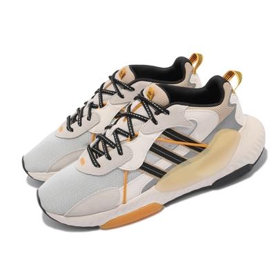 adidas 休閒鞋 Hi-Tail 運動 男女鞋 愛迪達 舒適 避震 反光 情侶穿搭 白 黑 H05767