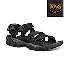 TEVA 男 Terra Fi 5 Sport 戶外機能運動涼鞋-黑