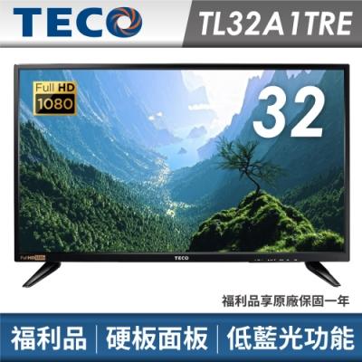 福利品TECO東元 32吋FHD液晶顯示器 視訊卡TL32A1TRE