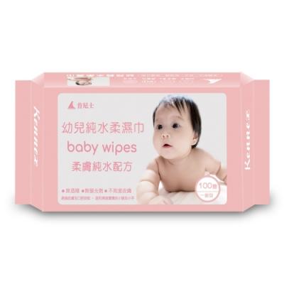 Kennex肯尼士純水柔濕巾-一般型100抽x36包/箱