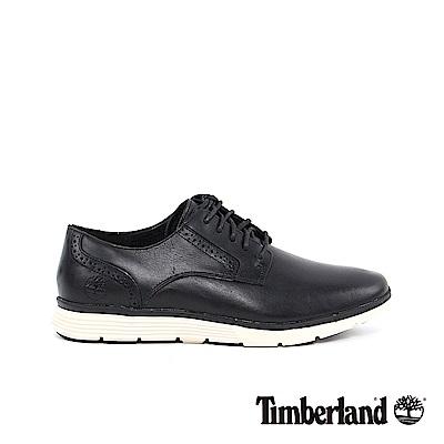 Timberland 男款黑色雕花牛津鞋