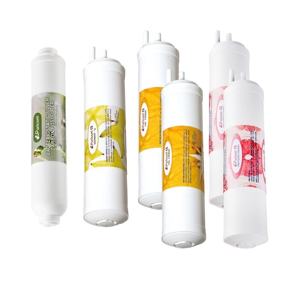普家康 智能超濾UV殺菌RO淨水器 一年份濾心