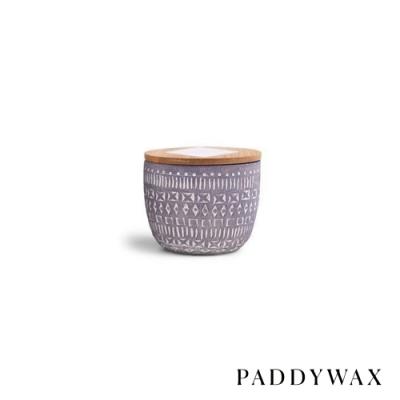 PADDYWAX 美國香氛 Sonora系列 樺木野花 原木蓋復刻浮雕陶罐 85g