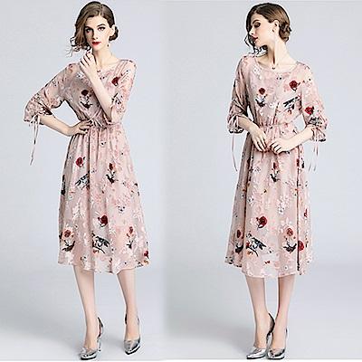 【KEITH-WILL】秒增優雅廓型蕾絲洋裝