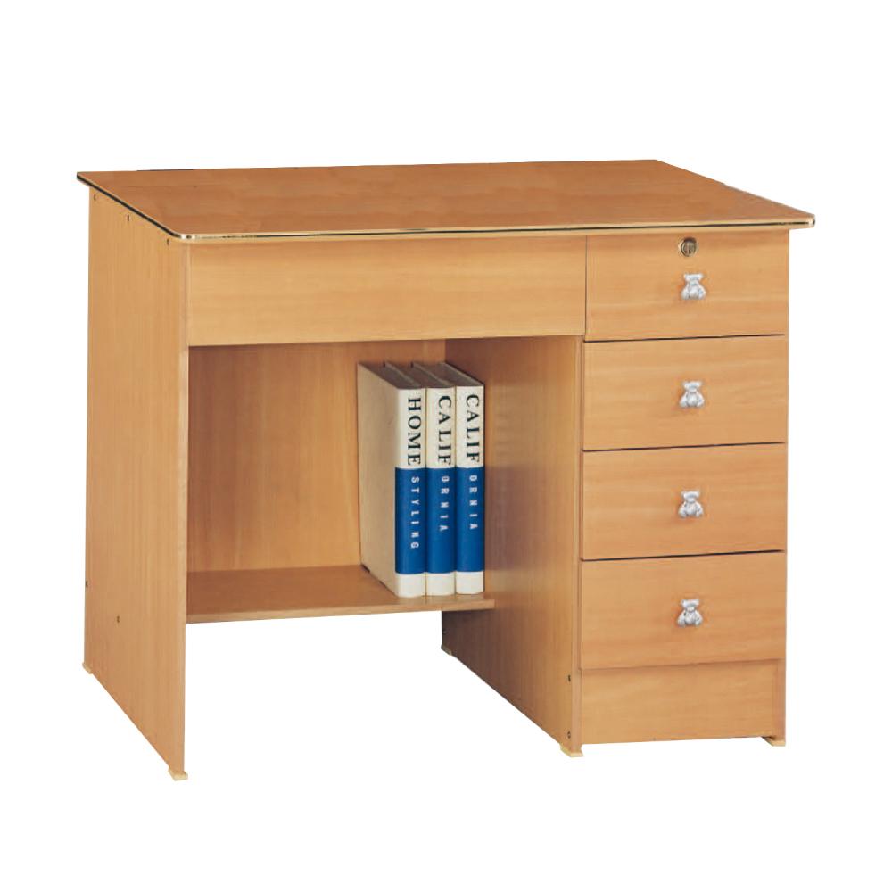 簡約風Vivien3尺書桌- 91x57x76cm