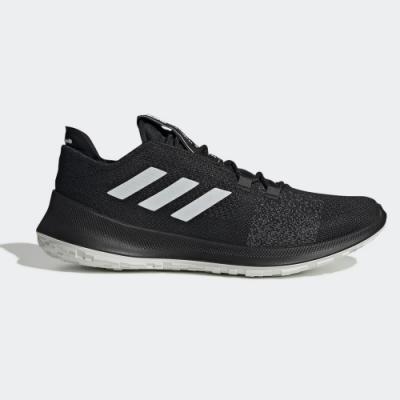 adidas 慢跑鞋 緩震 透氣 運動 休閒 男鞋 黑 EE4185 SenseBounce Ace