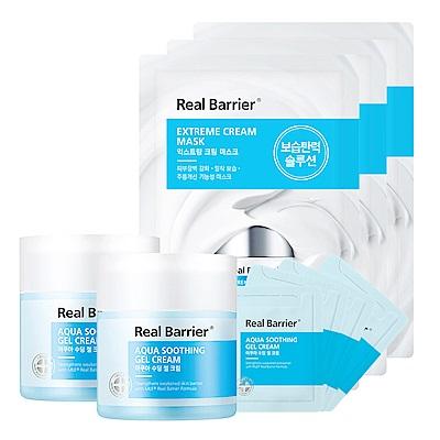 RealBarrier沛麗膚 屏護沁涼水感凝凍2大4小送乳霜面膜